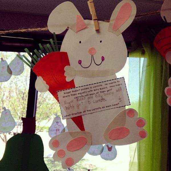 bunny preschool crafts rabbit crafts green bean kindergarten 683