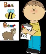 boy-writing-words-on-clipboard