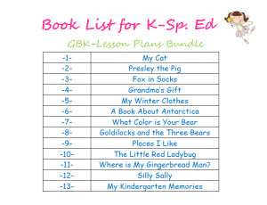 K SpEd Book Bundle Cover